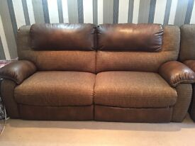 Sofas electric recliner 3 seater 2 seater