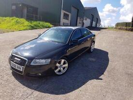 2006 06 Audi A6 2.0 TDI S-Line Black Diesel (not A4) FSH
