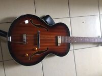 The most beautiful guitar you will ever hold - Washburn HB-15