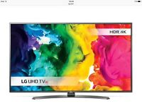LG HDR UH661V TV 55 inches