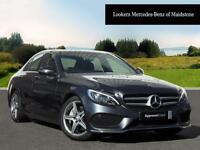 Mercedes-Benz C Class C250 D AMG LINE PREMIUM PLUS (grey) 2015-11-30