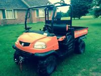 Trade my kubota rtv 900 for classic car or truck or ??