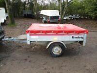 BRENDERUP 5-5 X 4-2 (500KG) GOODS TRAILER WITH COVER.........
