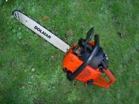 """Dolmar Sachs 100 14"""" Chain Saw."""