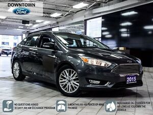 2015 Ford Focus Titanium, Smart Key, Premium Leather package
