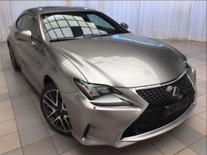 2015 Lexus RC 350 F Sport: 1 Owner, 2 Sets of Tires, AWD.