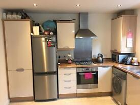 Fully fitted Symphony kitchen for sale, inc. hob, extractor and fridge freezer