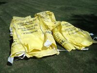 1 ton Used Jumbo Bags x 4 / Ideal for Transporting Garden Waste