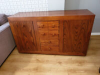 Solid dark wood Sideboard