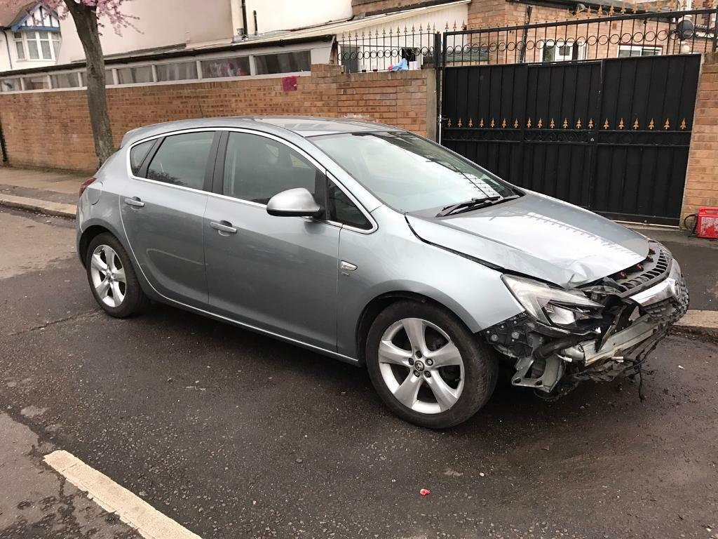 2010 vauxhall astra sri 1 6 petrol 5 speed light damage. Black Bedroom Furniture Sets. Home Design Ideas