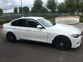 2012 BMW F30 2.0D M Sport Kitted Mint Car Fsh 2keys (a4 a3 passat Jetta leon Golf c220 530d 330d)