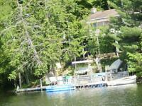 Cottage on Pike Lake Ontario near Perth