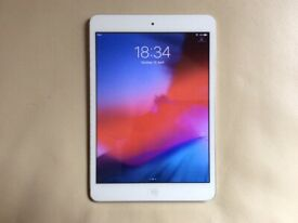 APPLE IPAD MINI 2 16GB WHITE FACE WITH SILVER BACK WELL LOOKED AFTER EXCELLENT CONDITION