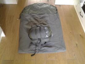 Sleeping bag with Gortex Bivi bag