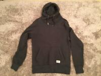 Superdry crossover hoodie charcoal size XL