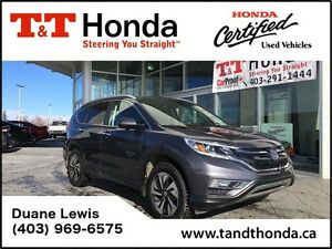 2015 Honda CR-V Touring *No Accidents, Locally Owned, Back-up Ca