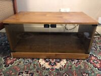 TV Stand/Cabinet with glass doors