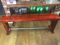 Handmade Rustic wooden Bench - Can Deliver Locally