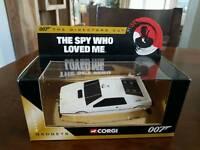 Corgi 007 The Spy Who Loved Me Lotus model