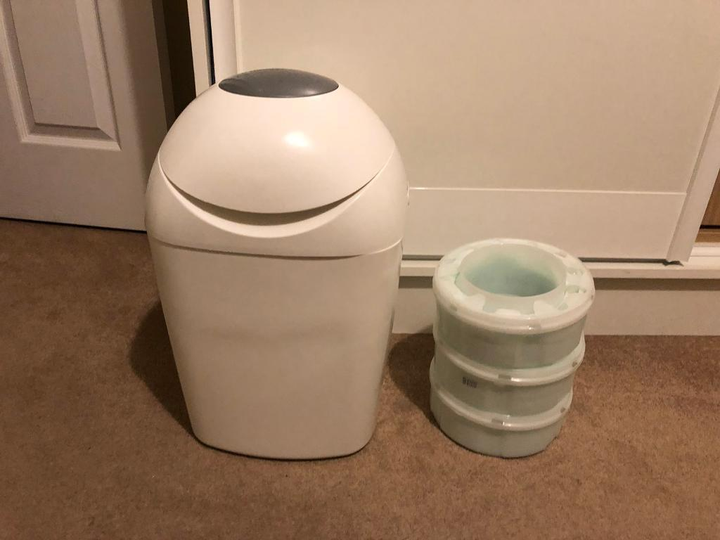 Tommee tippee baby nappy bin with refill   in Richmond, London   Gumtree