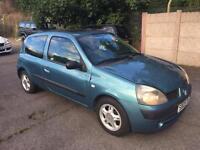 Renault Clio 2005 model 1.2 litre 3 Door £249 ono Cheap Bargain