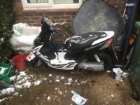 Here's my Yamaha moped for sale