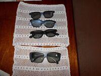 3 Cinema 3 D Sun glasses 1 for IMAX (4 in total)