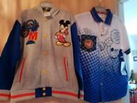 Boys disney shirt and jacket 5-6