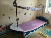 Unique Kids Boat bed