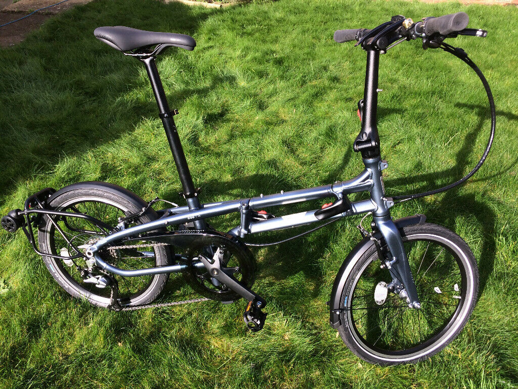 Tern Byb P8 Folding Bike 8 Speed As New Condition Extras In