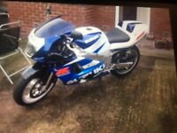Gsxr 600 for sale £1600 Ono.10 months mot bike is ready to use dosent want for nothing.