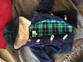Baby Boden duffle coat 12-18m