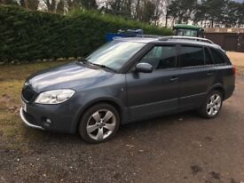 Skoda Fabia Scout Estate 1.6 - 1 previous female owner - great run around