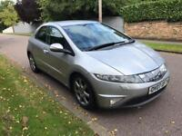 HONDA CIVIC EX I-CTDI 5 DOOR 2007 FULLY LOADED DRIVES LOVELY 07760971405