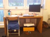 FOR SALE: Absolutely MASSIVE desk (IKEA MALM in OAK) - £60