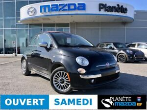 2013 FIAT 500 CONVERTIBLE LOUNGE CONVERTIBLE AIR MAGS CUIR