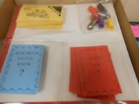 Carel Library Game in original box. All content present. Entertaining learning game for students.
