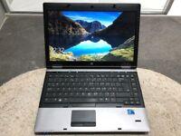 "HP Probook Laptop 6450b/14"" Intel i5 M450 2.40GHz/4gb Ram/320gb HD/Windows 10 Pro ref:4"