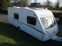 **SWIFT CARDINAL 4 BERTH,2009 TOURING CARAVAN,GREAT LAYOUT,SIDE DINETTE,REAR WASHROOM**