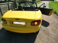 Mazda Mx-5 2000 - 1.6 - California (Limited edition) - Sunburst Yellow