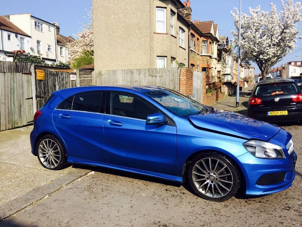 2013 Mercedes A180 Amg Diesel 78mpg Salvage Damaged