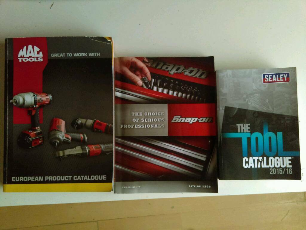 Tool catalogs x3
