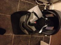 chicco car seat and carry bag with changing mat