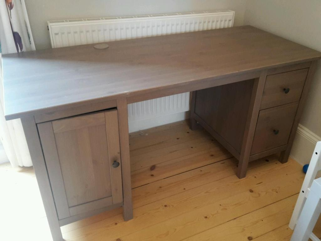 Ikea hemnes desk grey brown in East Dulwich London  : 86 from www.gumtree.com size 1024 x 768 jpeg 50kB