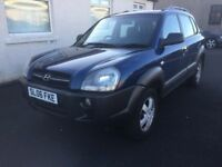 STUNNING 2006 HYUNDAI TUCSON LOW MILEAGE RELIABLE JEEP PX WELCOME £1395