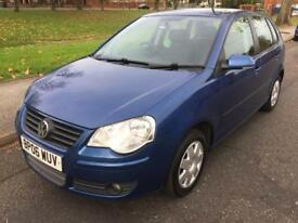 2006 V W POLO S 75 (AUTOMATIC) 1.4 PETROL ONE FORMER KEEPER FULL V W DEALER SERVICE HISTORY LONG MOT