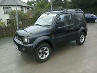 06 Suzuki Jimmy 1.3 Vvt 4x4 3 door Moted Aug 2017( can be viewed inside anytime)