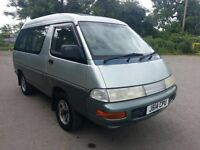92J TOYOTA TOWNACE 2.0 DIESEL AUTO 4WD SUPER EXTRA 8 SEATER FULL MOT CURTAINS COOL/HOT BOX ICE MAKER