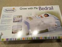 Bedrail for toddler or single bed - New in box