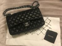 Classic Chanel 2.55 leather bag
